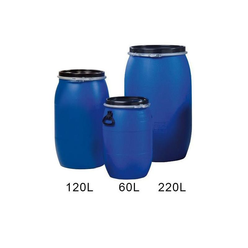 Réservoir en plastique bleu PEHD 60L