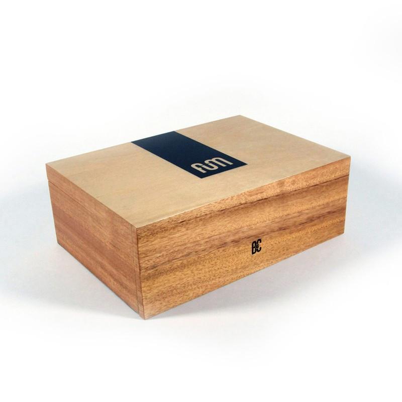 FUM BOX  MODELE LARGE COULEUR BOIS