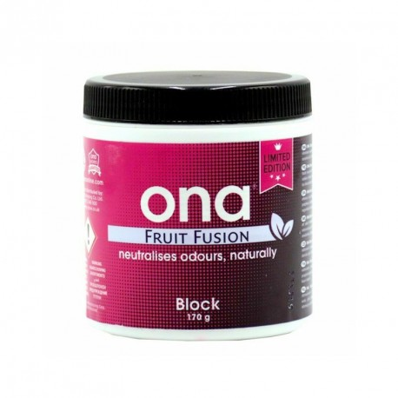 Destructeur d'odeur ONA Fruit Fusion en block 170g