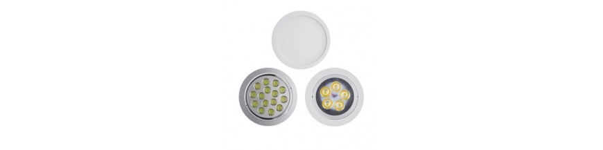 Led downlight rond