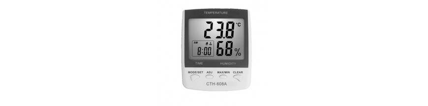 Grossiste TEMPERATURE ET HYGROMETRIE