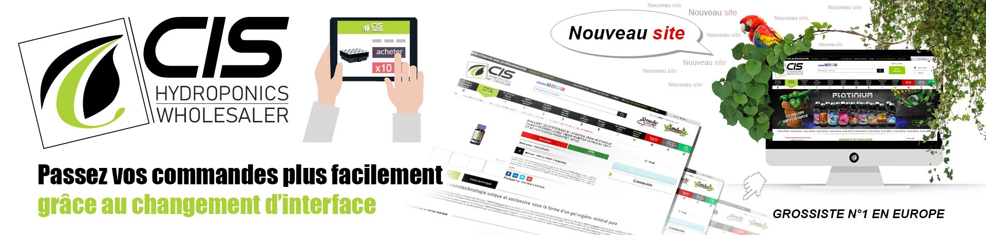 CIS GROSSISTE CHANGEMENT-D-INTERFACE